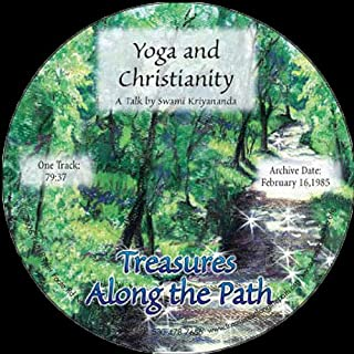 Yoga and Christianity audiobook cover art