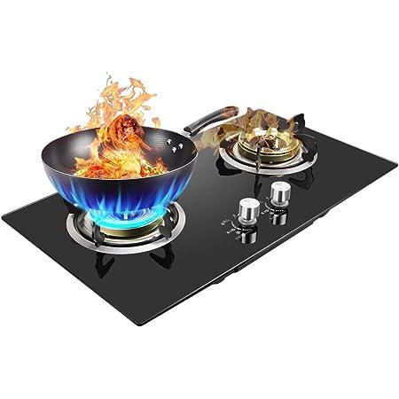 Makluce La /última Estufa de Gas port/átil Creativa Estufa de Gas para Picnic al Aire Libre Camping Estufa de Gas s/úper Fuego Calefacci/ón r/ápida