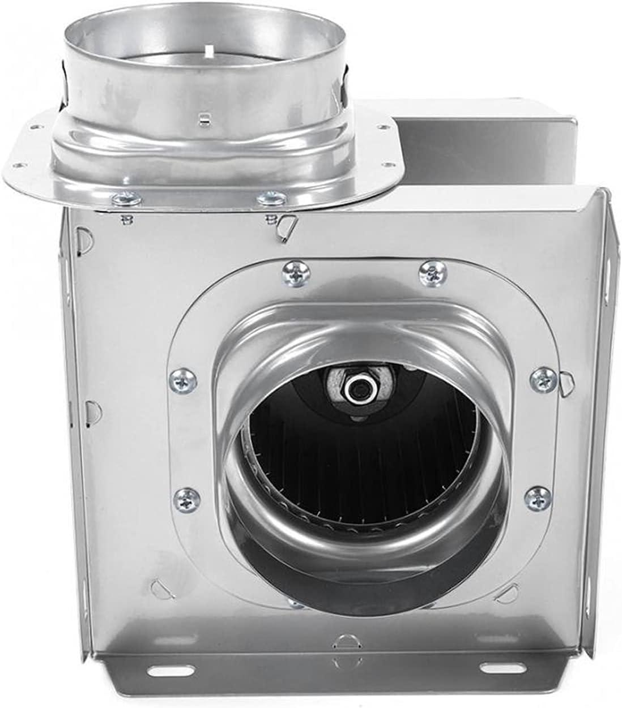 Ventilador de ventana Ventilador de aire del ventilador de aire del conducto de 4 pulgadas Ventilación de la tubería Ventilador de escape Mini extractor hotel oculto Silent Wall Fan Duct Fan para baño