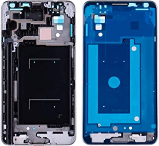 HuntGold2 LCD Display Screen Digitizer Frame Replacement for Samsung Galaxy Note 3 N900A N900T US-90A;Silver