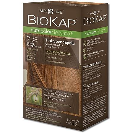 Biokap Tinte Delicato Plus Golden Blond Wheat 7.33+ 140 ml 140 ml
