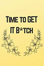 Time to GET IT B*tch: Body Measurements Tracker-: Keep track of your Body Measurements-Size (6×9 inches)-120 pages