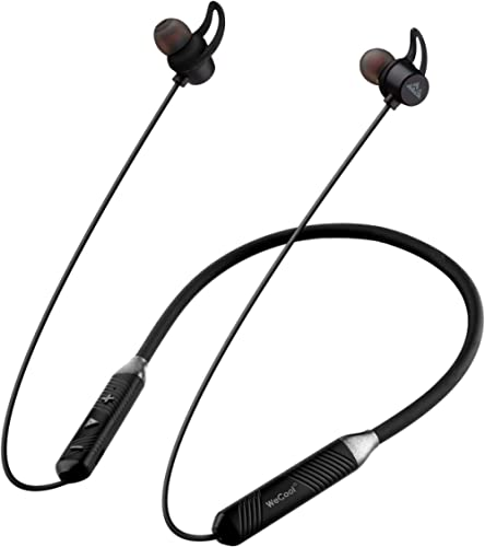 WeCool N1 Wireless Earphones with Dynamic Drivers for Immersive Music Experience, IPX5 Sweatproof, 12 Hours Playtime,...