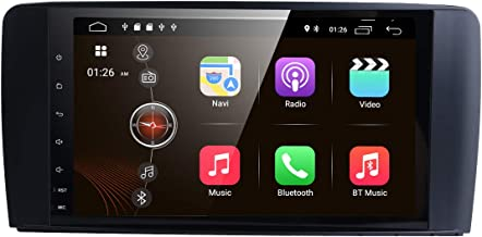 Android 8.1 Car DVD Player 9 Inch Radio GPS Navigation Stereo for Mercedes Benz ML GL W164 Auto GPS Navigation WiFi Bluetooth Touch Screen Mirror Link Dab OBD2 DVR TPMS …