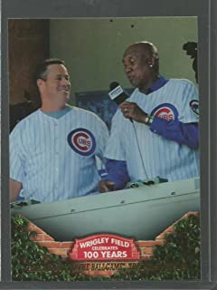 Baseball MLB 2016 Topps 100 Years at Wrigley #WRIG-16 Take Me Out to the Ballgame Tradition Begins #WRIG-16 NM Near Mint Cubs