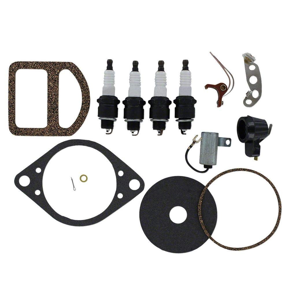 One New Ignition Tune Up Kit w/Distributor Gaskets Fits Ford, Fi