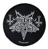 Photo de Dark Funeral Écusson avec logo circulaire - Tissé et sous licence.