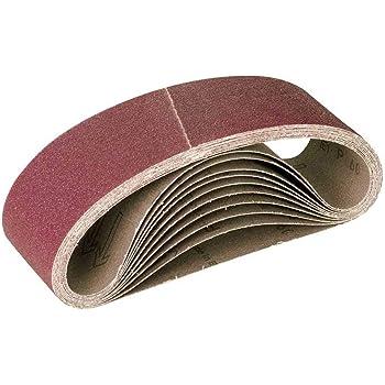 Miotools Fox Sanding Belts 303 X 40 Mm Grain 80 F Hand Belt Sanders Pu 10 Amazon Co Uk Diy Tools