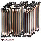 AZDelivery 5 x Jumper Wire Kabel 3 x 40 STK. je 20 cm M2M/ F2M / F2F für Raspberry Pi Breadboard...