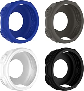 4PCS Soft Silicone Full Body Protective Cover Shock Proof Case Protector Accessories for Garmin Forerunner 235 735XT GPS S...