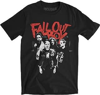 Punk Scratch Photo T-Shirt Size M