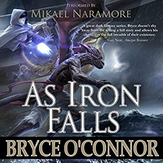 As Iron Falls audiobook cover art