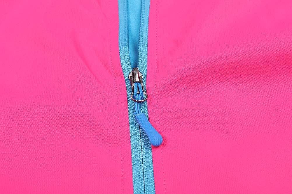 Jingle Bongala Girls Waterproof Rain Jackets Fleece Lined Hooded Raincoats Lightweight Windbreaker