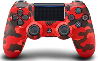 Wireless Controller (DUALSHOCK 4) Red camouflage