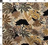 Safari, Tiger, Gold, Tarnfarben, Afrika, Wild, Zebra Stoffe