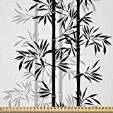 ABAKUHAUS Bambus Stoff als Meterware, Japanischer Baum