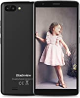 Blackview Mobile Phones, A20 (2018) Android GO, UK Sim-Free Smartphone with 5.5 Inch HD IPS Display - 8GB ROM - 5MP Dual Cameras - 3000mAh Battery - Bluetooth - GPS Smartphone Gray