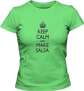 Women's Keep Calm and Make Salsa T-Shirt