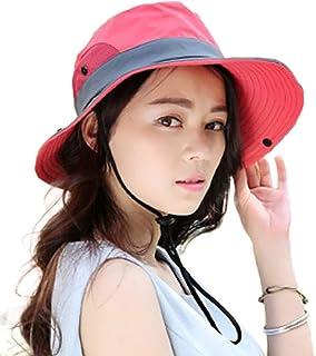 [キャプテン・ケイ] 日よけ帽子 遮光 UVカット バケットハット レディース