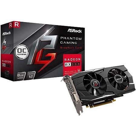 ASRock AMD Radeon RX580 搭載 グラフィックボード Phantom gaming モデル PG D Radeon RX580 8G OC