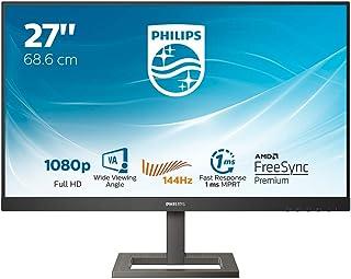 """Philips 272E1GAEZ - 27"""" FHD gamingowy monitor multimedialny, AMD FreeSync, głośniki, inteligentny obraz (1920 x 1080 @ 144..."""