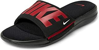 Men's Ultra Comfort 3 Slide, Black/Gym Red-White (US 8)