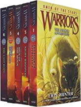 Warrior Cats Series Omen of the Stars & Power of Three 1 3 4 5 6: Collection 5 Books Set By Erin Hunter (The Fourth Appren...