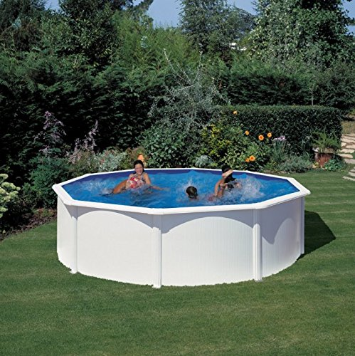 San Marina Pools – Kit Pool-aus Stahlblech, 460 x 120 cm