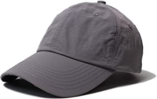 Clape Unstructured Quick Dry Baseball Cap Lightweight Breathable Sports Hat for Men UPF 50+ Sun Protection Mens Hats Dad Hat