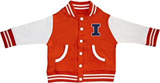 Creative Knitwear University of Illinois Fighting Illini Power I Varsity Jacket