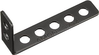 エーモン(amon) 取付金具(L型) 黒 穴径7mm 15×72×37mm S734