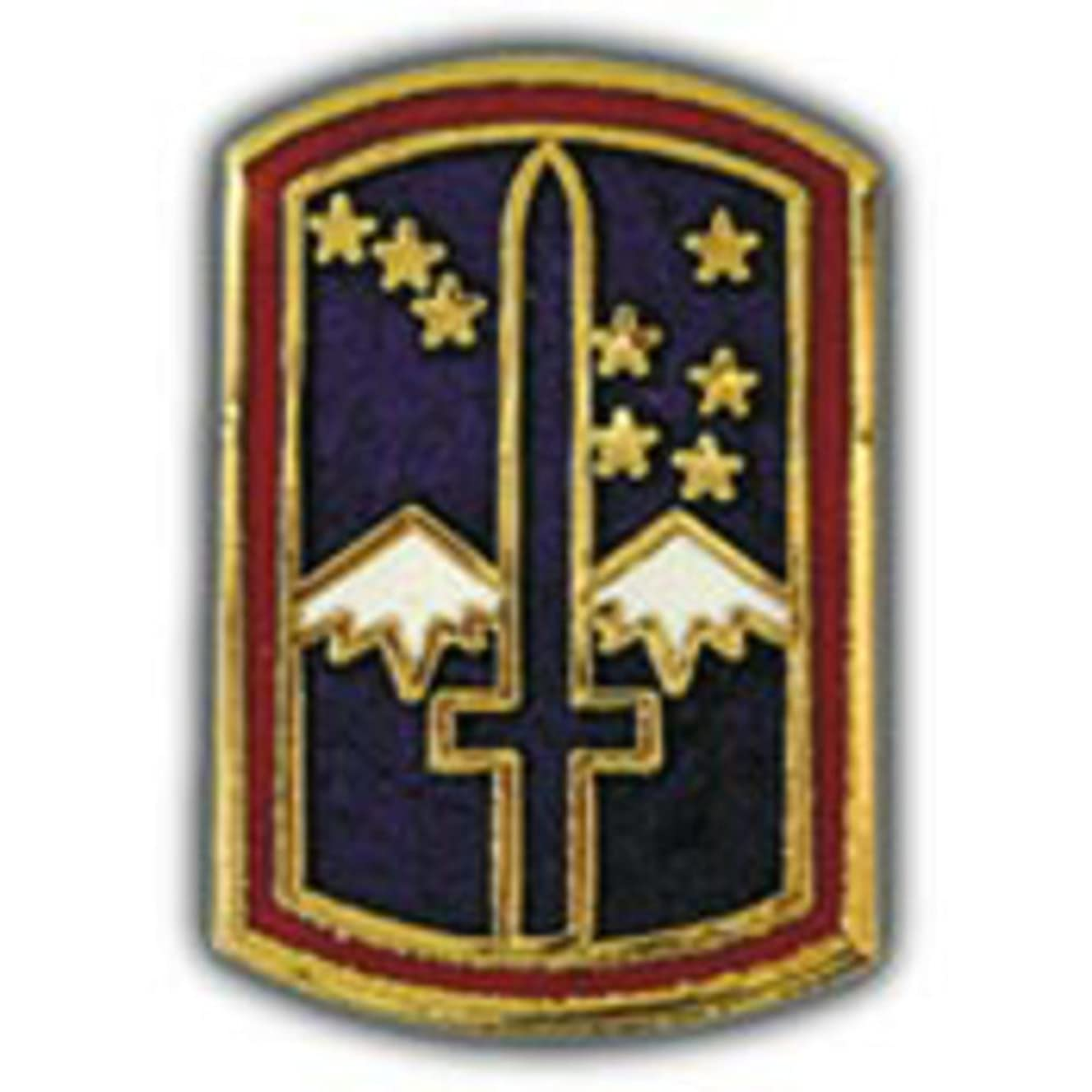 EagleEmblems P14068 Pin-Army,172ND Inf.DIV. (1'')