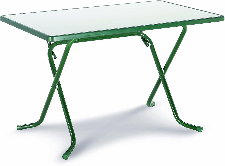 Best 26521130 Scherenklapptisch Primo eckig 110 x 70 cm, grün