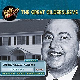 The Great Gildersleeve, Volume 1 audiobook cover art