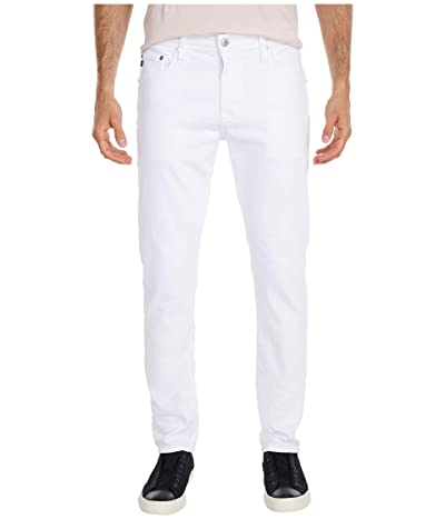 AG Adriano Goldschmied Tellis Modern Slim Leg Jeans in White (White) Men