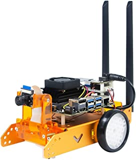 XiaoR Geek Jetbot AI kit with Nvidia Jetson nano 自動運転車の学習 (Orange, With Jetson nano)