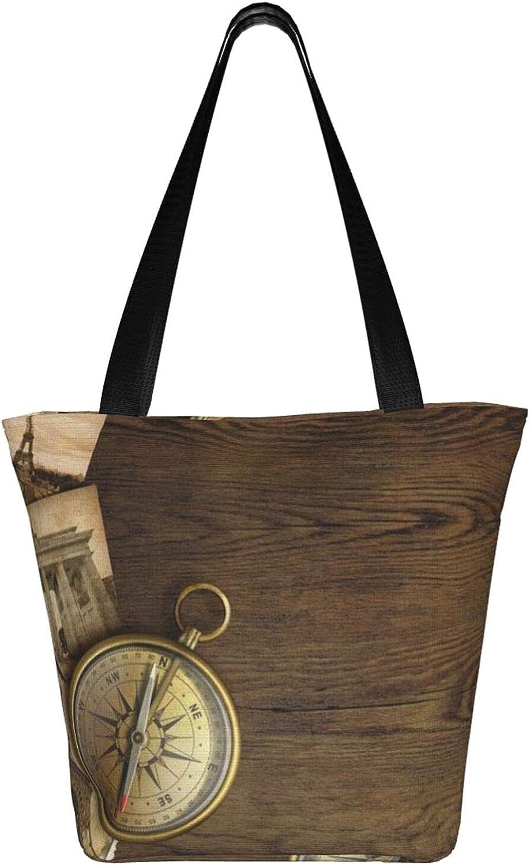 Large Tote Bag Canvas Hobo Bag Daily Work Shoulder Handbag Best Gifts for Women (Spring Summer Flowers Red Purple White)