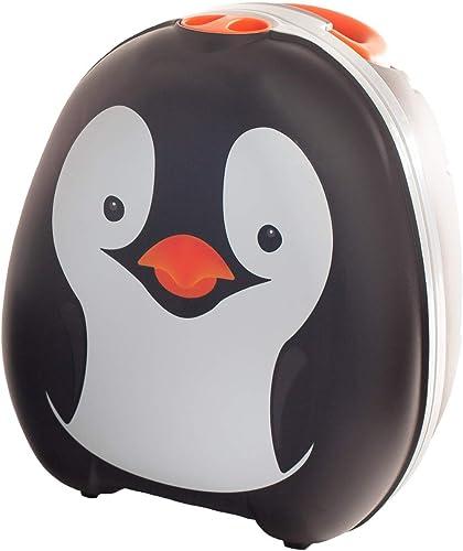 My Carry Potty - Pot de Voyage Manchot, Meilleur Siège de Toilette Portable pour les Tout-Petits et les Enfants à Emp...