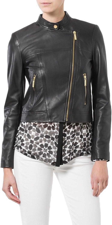 Genuine Soft Lambskin Leather Jacket for Women's Designer Wear LTN155
