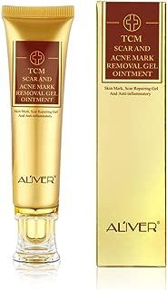 Acne Scar Removal Cream, TCM Scar and Acne Mark Removal Gel, skin mark, Scar Repairring Gel and Anti-inflammatory, Face Skin Repair Cream, Blackhead Whitening Cream Stretch Marks(30ml) (ALIVER)