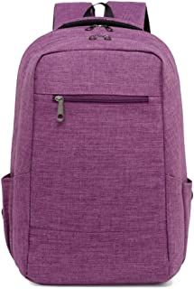 Fashion New Large Capacity Shoulder Bag Fashion Men Backpack Multifunctional Laptop Bag Man Travel Bag (Color : Purple, Size : 42cm*28cm*12cm)