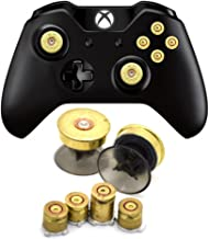 Bullet Buttons for Xbox One Controller, COCOTOP Raplacement Parts Bullet Thumbsticks and A B X Y Buttons Set Mod Kits for Xbox one / Xbox ONE Elite Controller Joystick