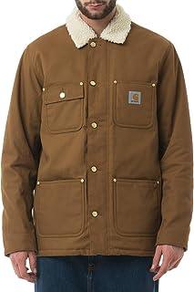 Carhartt Fairmount Coat Dearborn Hamilton Brown