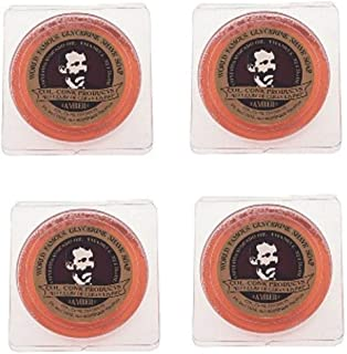 Col. Ichabod Conk Glycerin Soap (Amber 4 Pack)2 1/4 ounce each