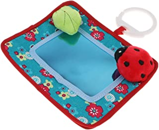 simhoa Baby Toddler Floor Mirror Toy Self-Discovery Developmental Learning Toy