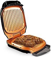 Livington Low Fat Grill – compacte contactgrill voor vetarm grillen – elektrische grill met keramische coating & vetafvoer...