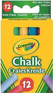 Kreda Crayola niepylaca kolorowa 12 szt