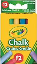 Crayola Muilti Coloured Chalk 12 Pack