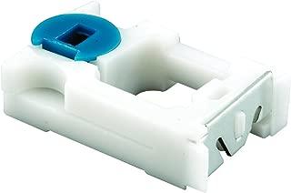 Prime-Line MP3785 Spiral Balance Pivot Lock Shoe, 5/8 In, Plastic w/Steel Plate, Blue Bushing, Pack of 2, 2 Piece