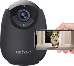 Dog Camera-1080P FHD Pet Camera with Phone App, Pan/Tilt/ Zoom Puppy Camera with 2-Way Audio, AI Human Detection, Night Vi...